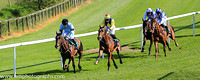 01st Caro Des Flos and D J Mullins ( 4 , light blue, dark blue armlet ) Trainer - W P Mullins , Owner - Highclere T?Bred Racing Syndicate-Caro