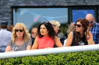 Spectators at Downpatrick Races