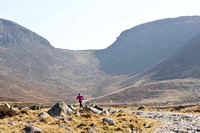 Charlene Haugh on a training run up the Trassey Track towards the Hare's Gap in the Mourne Mountains -_MG_1257-e2