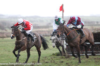 2014/02/08th - Race 5 East Down Foxhounds Point to Point Steeplechases at Tyrella