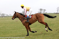 2014/02/08th - Race 2 East Down Foxhounds Point to Point Steeplechases at Tyrella