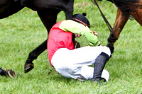 P N O'Brien Jockey of Boston Lord on the ground -FT8E5656-e4