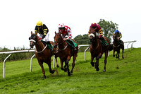 Melon Delta 3rd, Jockey J L Cullen , Auenschutze 2nd, Jockey B J Geraghty & Final Day winner, Jockey P Carberry - CU2D0815-e
