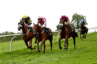 Melon Delta 3rd, Jockey J L Cullen , Auenschutze 2nd, Jockey B J Geraghty & Final Day winner, Jockey P Carberry - CU2D0816-e