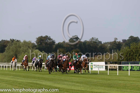 07 Digeanta and P J Smullen - - 07th (8 ,emerald green , orange seams ) Trainer - W P Mullins