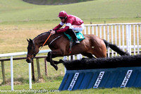 01st Game Of War and D N Russell ( 2 , maroon, white star ) Trainer - H de Bromhead , Owner - Gigginstown House Stud