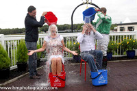 2014/08/25th - Ice Bucket Challenge at Downpatrick Race Course Ladies Day