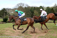 03rd HIDDEN PASSAGE and R P Quinlan ( 1 , PINK; white sleeves; white cap ) Trainer: Sam Curling,, Owner : Zoe Doyle