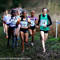 2017-01-14th - Top 20 Women at Antrim IAAF International Cross Country