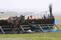 TRY IT YOU and S Caunagh ( 11 , DARK GREEN,black sash; dark green sleeves; black cap ) Trainer: Brian W. Dougan , Owner : Richard S. Gibson