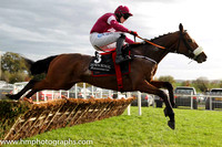 05th F Overtures (GB) ( 3 , maroon, white hoop ) and K.C. Sexton - Trainer : Gordon Elliott - Owner : Gigginstown House Stud