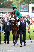 03 Silwana and L F Roche - - 03rd (14 ,green, red epaulettes ) Trainer - D K Weld